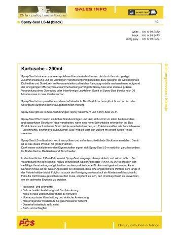 Kartusche - 290ml