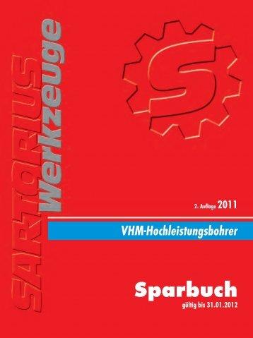VHM-Hochleistungsbohrer - strojotehnika