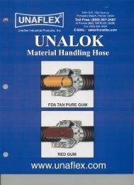 Unaflex Rubber Hose Catalog - Bay Port Valve & Fitting