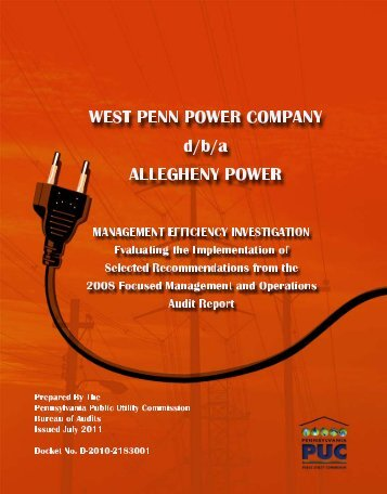 Untitled - Pennsylvania Public Utility Commission