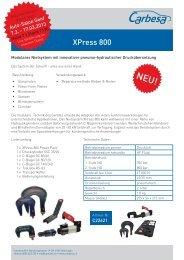XPress 800 - Carbesa AG