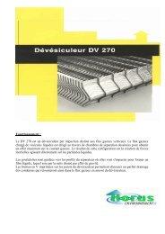 DV 270 - Horus Environnement