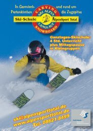 Download Skiprospekt (PDF) - bei AlpenSport Total!