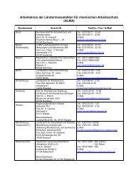 Mitgliederverzeichnis - Arbeitskreis der Ländermessstellen für ...