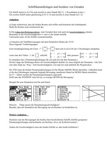Schiffskarambolagen(TI83) - K-achilles.de
