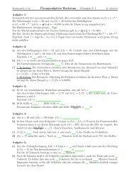 ¨Ubungsaufgaben Wachstum — Lösungen S. 1 ... - ram-breisgau.de