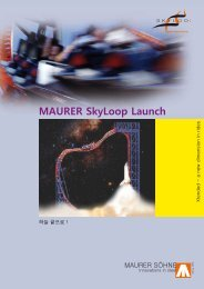 MAURER SkyLoop Launch