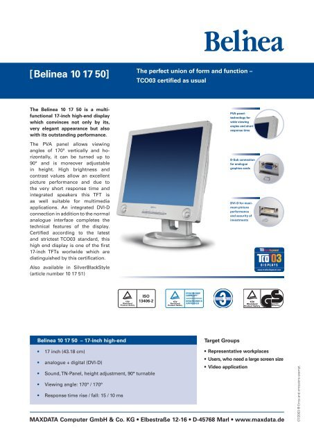 BELINEA 10 17 35 WINDOWS 7 X64 TREIBER