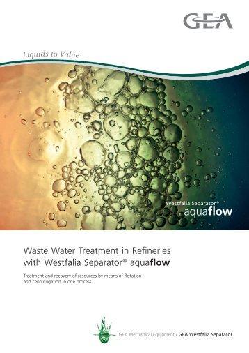 Waste Water Treatment in Refineries - PITT GmbH