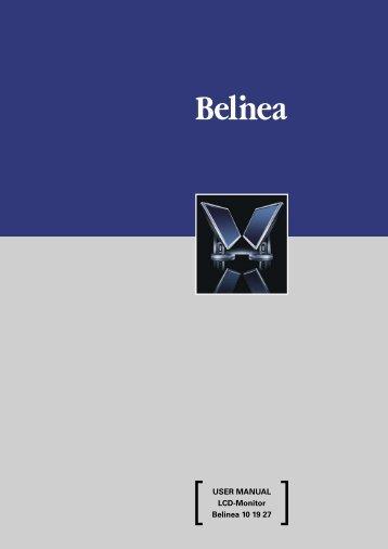 USER MANUAL LCD-Monitor Belinea 10 19 27 - ECT GmbH