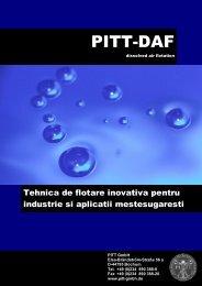 Prospekt PITT-DAF rumänisch - PITT GmbH
