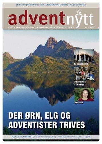 Dametreff 21.-23. september Sted: Hornsjø ... - Advent Nytt