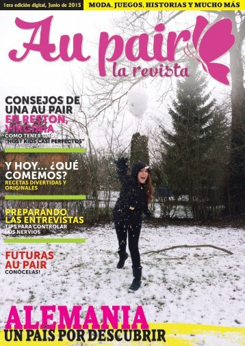 Aupair Larevista - Junio