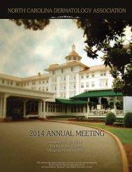 download the registration brochure - North Carolina Medical Society