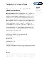 PRESSEMITTEILUNG, Nr. 06/2012 - Profil Marketing