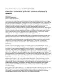 Berlingske Business - Dansk Biotek
