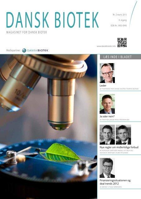 Magasinet for dansk biotek nr. 2. 2013