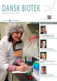 Magasinet for dansk biotek, december 2011