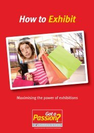 "guide ""How to Exhibit – maximizing the power of exhibitions"