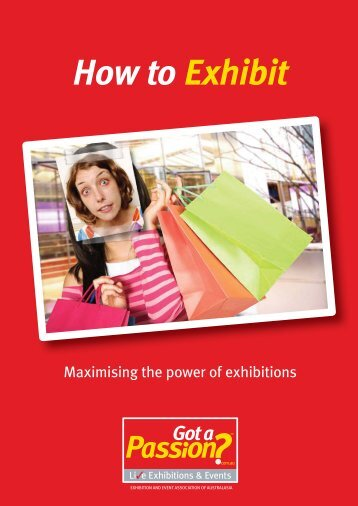 """guide """"How to Exhibit – maximizing the power of exhibitions"""