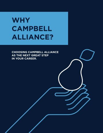 WHY CAMPBELL ALLIANCE?