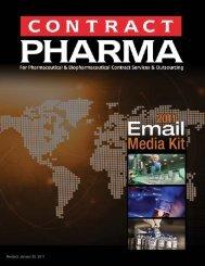 2011 Email Marketing Kit - Contract Pharma