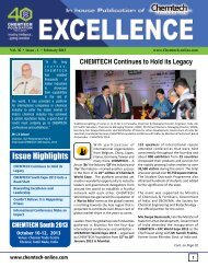Issue Highlights - Chemtech-online.com