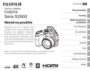 FINEPIX S2900 Series - Agem.sk