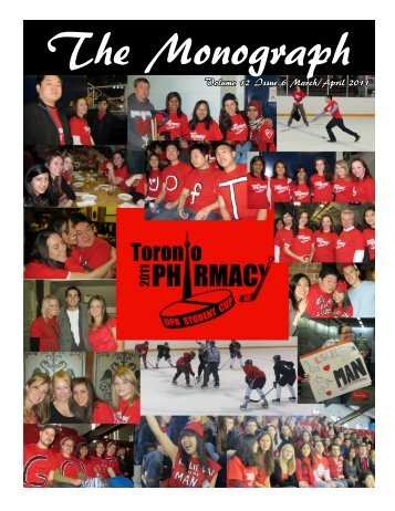 Volume 12 Issue 6 March/April 2011 - University of Toronto's ...
