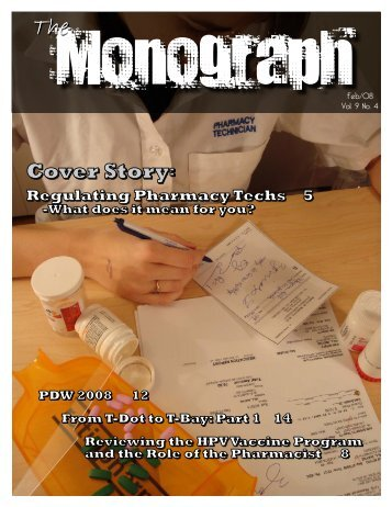 February - University of Toronto's Undergraduate Pharmacy Society