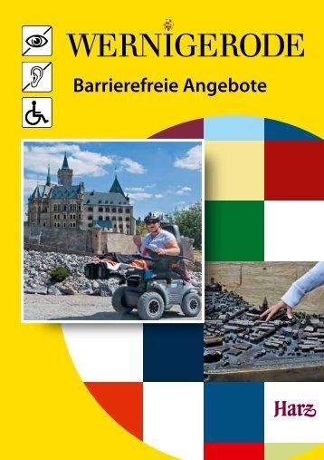 Barrierefreie Angebote in Wernigerode