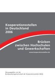 Steckbriefe 10-06.qxd - Bundesarbeitsgemeinschaft der ...