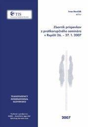 1 Transparency International Slovensko