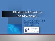 Elektronické aukcie na Slovensku