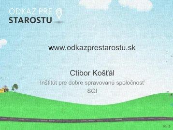 C. Košťál - Transparency International Slovensko