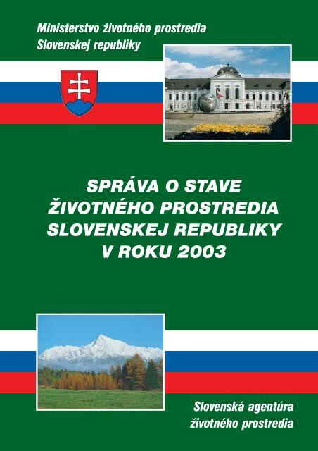 2003 Starostlivosť o ŽP