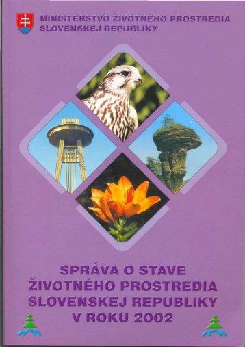 2002 Odpady
