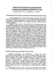 Koncepce přenosového systému aktivní ochrany na podzemních ...