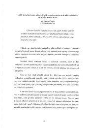Výběr izolačních materiálů a měřících metod ve vztahu ke kvalitě a ...