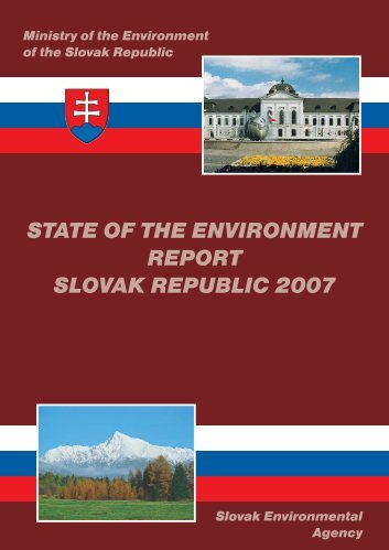 state of the environment report slovak republic 2007 - Enviroportal.sk