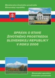 2006 Havárie a živelné pohromy