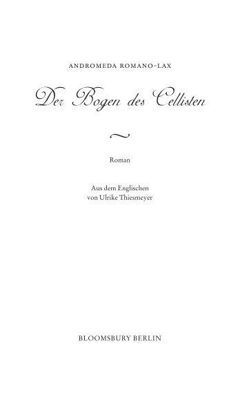 Der Bogen des Cellisten