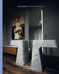 WORK IN PROGRESS CATALOGO 2011 - A.M.O.S. Design, s.r.o.