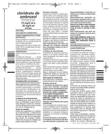 cloridrato de ambroxol