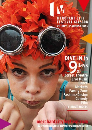 Merchant City Festival brochure 2015