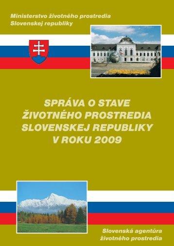 2009 Environmentálna regionalizácia