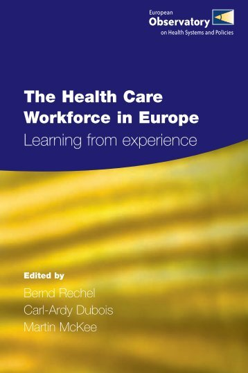 health care ii related learning experience Improving health care quality: the  including provider reporting on quality and patient experience, and payment reforms related to  opportunities for improving.