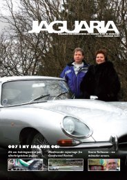 007 i ny Jagaur og: - Jaguar Club of Denmark