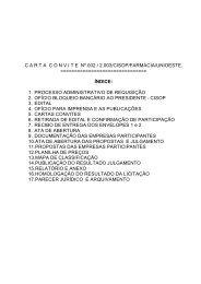 Carta Convite CISOP UNIOESTE FARMA2 - Olivatti