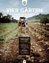Vier Gärten - Magazin
